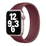Ремешок для часов Yotrix Solo Loop для Apple Watch 38/40 мм (бордовый, силиконовый)