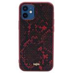 Чехол Kajsa Dale Glamorous Snake 2 для Apple iPhone 12 mini (красный, кожаный)