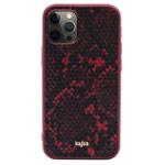 Чехол Kajsa Dale Glamorous Snake 2 для Apple iPhone 12/12 pro (красный, кожаный)