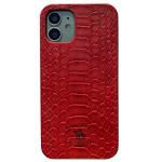 Чехол Santa Barbara Knight для Apple iPhone 12 mini (красный, кожаный)