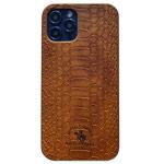 Чехол Santa Barbara Knight для Apple iPhone 12 pro max (коричневый, кожаный)