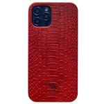 Чехол Santa Barbara Knight для Apple iPhone 12 pro max (красный, кожаный)