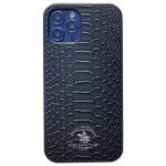Чехол Santa Barbara Knight для Apple iPhone 12 pro max (черный, кожаный)