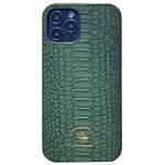 Чехол Santa Barbara Knight для Apple iPhone 12/12 pro (темно-зеленый, кожаный)