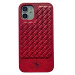 Чехол Santa Barbara Ravel для Apple iPhone 12/12 pro (красный, кожаный)