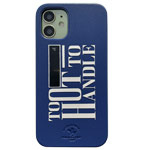 Чехол Santa Barbara Tempa для Apple iPhone 12 mini (синий, кожаный)