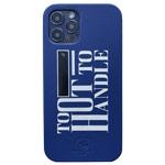 Чехол Santa Barbara Tempa для Apple iPhone 12/12 pro (синий, кожаный)