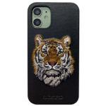 Чехол Santa Barbara Savanna для Apple iPhone 12 mini (Tiger, кожаный)