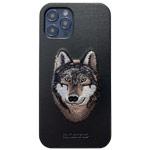 Чехол Santa Barbara Savanna для Apple iPhone 12 pro max (Wolf, кожаный)