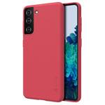 Чехол Nillkin Hard case для Samsung Galaxy S21 (красный, пластиковый)