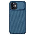 Чехол Nillkin CamShield Pro для Apple iPhone 12 mini (темно-синий, композитный)
