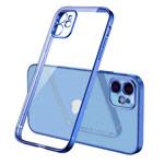 Чехол Coblue Soft Plating Case для Apple iPhone 12 mini (синий, гелевый)