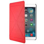 Чехол Yotrix OrigamiCase для Apple iPad Air (красный, кожанный)