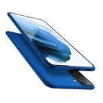Чехол X-Level Guardian Case для Samsung Galaxy S21 plus (синий, гелевый)