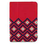 Чехол X-doria SmartStyle case для Apple iPad Air (Tribal Red, матерчатый)