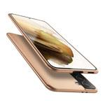 Чехол X-Level Guardian Case для Samsung Galaxy S21 (золотистый, гелевый)