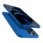 Чехол X-Level Guardian Case для Apple iPhone 12/12 pro (синий, гелевый)