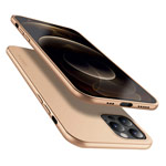 Чехол X-Level Guardian Case для Apple iPhone 12/12 pro (золотистый, гелевый)