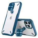 Чехол Nillkin Cyclops case для Apple iPhone 12 pro max (синий, композитный)