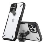 Чехол Nillkin Cyclops case для Apple iPhone 12 pro max (черный, композитный)