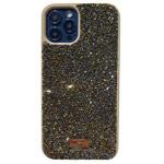 Чехол Swarovski Crystal Case для Apple iPhone 12/12 pro (золотистый, гелевый)