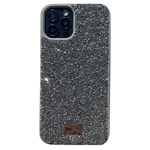 Чехол Swarovski Crystal Case для Apple iPhone 12/12 pro (серебристый, гелевый)