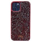 Чехол Swarovski Crystal Case для Apple iPhone 12 pro max (красный, гелевый)