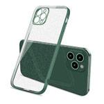 Чехол Coblue Soft Plating Case для Apple iPhone 12 pro max (зеленый, гелевый)