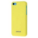 Чехол Jekod Hard case для Apple iPhone 5C (желтый, пластиковый)