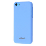 Чехол Jekod Hard case для Apple iPhone 5C (синий, пластиковый)
