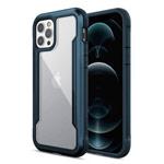 Чехол X-doria Defense Shield для Apple iPhone 12/12 pro (синий, маталлический)