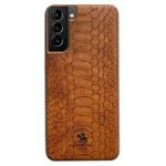 Чехол Santa Barbara Knight для Samsung Galaxy S21 plus (коричневый, кожаный)