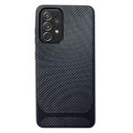 Чехол Yotrix CarbonCase для Samsung Galaxy A52 (черный, гелевый)
