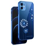 Чехол Coblue Crystal Plating Case для Apple iPhone 12 (темно-синий, гелевый)
