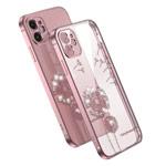 Чехол Coblue Crystal Plating Case для Apple iPhone 12 (розовый, гелевый)