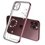 Чехол Coblue Crystal Plating Case для Apple iPhone 12 pro (розовый, гелевый)