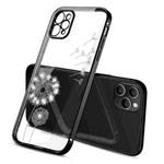 Чехол Coblue Crystal Plating Case для Apple iPhone 12 pro (черный, гелевый)