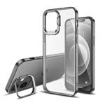 Чехол Coblue Stand Case для Apple iPhone 12/12 pro (серый, пластиковый)