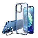 Чехол Coblue Stand Case для Apple iPhone 12/12 pro (синий, пластиковый)
