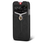Чехол Nextouch InTheAir Opera case для Samsung Galaxy S4 i9500 (темно-серый, кожанный)