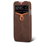 Чехол Nextouch InTheAir Opera case для Samsung Galaxy S4 i9500 (темно-коричневый, кожанный)