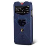 Чехол Nextouch InTheAir Code case для Samsung Galaxy S4 i9500 (темно-синий, кожанный)