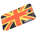 Чехол Nextouch MyFlag case для Samsung Galaxy S4 i9500 (UK, кожанный)