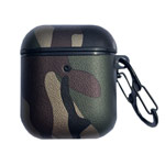 Чехол Synapse Defense Camo для Apple AirPods 1/2 (золотистый/зеленый, пластиковый)