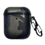 Чехол Synapse Defense Camo для Apple AirPods 1/2 (золотистый/синий, пластиковый)
