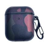 Чехол Synapse Defense Camo для Apple AirPods 1/2 (бордовый/розовый, пластиковый)