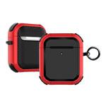 Чехол Synapse Defense Armour для Apple AirPods 1/2 (красный, пластиковый)