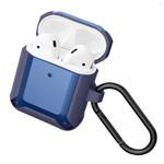 Чехол Synapse Defense Shell для Apple AirPods 1/2 (темно-синий, пластиковый)