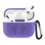Чехол Synapse Buckle2 Case для Apple AirPods pro (фиолетовый, силиконовый)