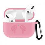 Чехол Synapse Buckle2 Case для Apple AirPods pro (розовый, силиконовый)